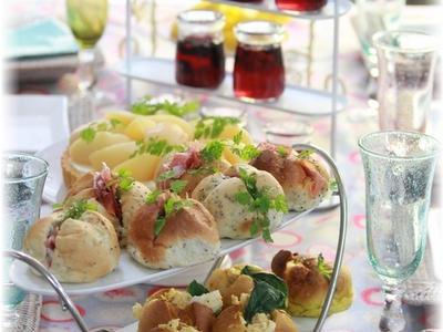 >一度に2種類出来ちゃうサンドイッチパン。と 真夏のお友達mini軽食。 by YOMEさん