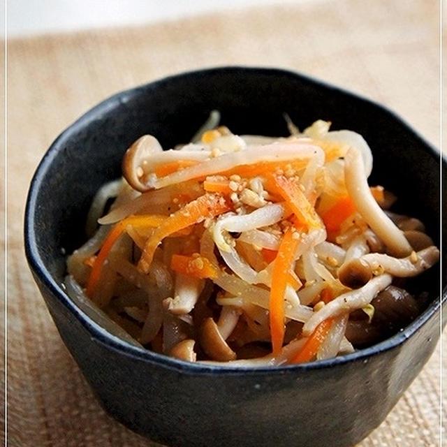 ほど塩レシピ <もやしの和風ナムル>