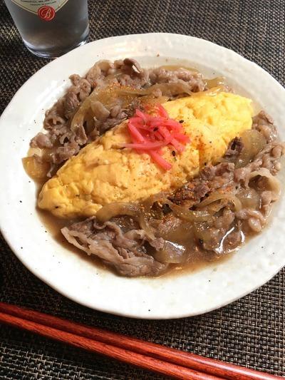 【おつまみレシピ】ふわっとジューシー!牛すきオムレツ