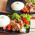 【主菜】理想と現実のギャップ。海外で作る和食♡大人気レシピ!フライドオニオンでサクサク唐揚げ
