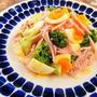 【レシピ】ブロッコリーと半熟ゆで卵のサラダ
