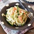 【レシピ・副菜】新玉ねぎの消費に!新玉ねぎとカニかまの和風サラダ