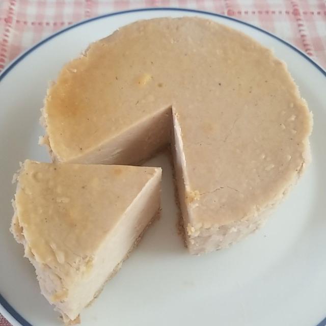 マロンペースト5kg缶攻略第九弾、マロンチーズケーキ