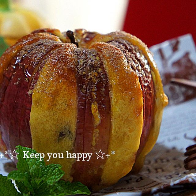+*焼きりんごとスイートポテトのコラボスイーツ+*ハロウィン