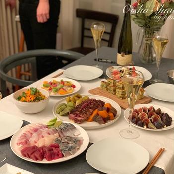 親友料理人と料理会ホームパーティー
