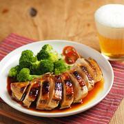 鶏むね肉の柔らか照り焼き、作り方動画