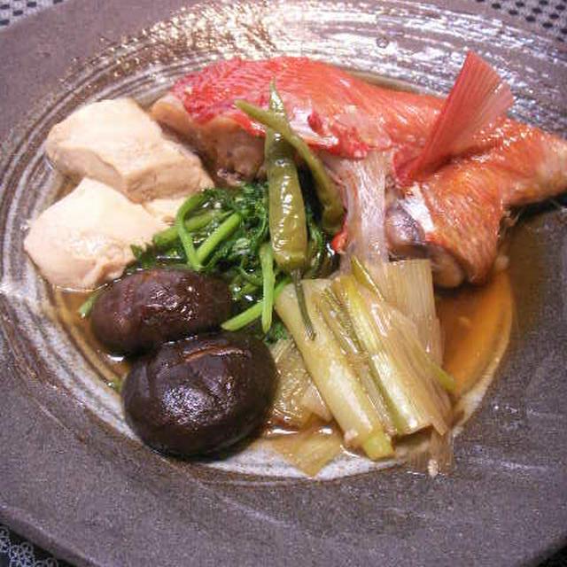 いつもの煮魚*『鮮度の一滴』応募レシピ