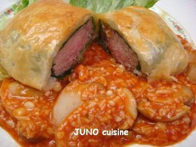 ☆仔牛のパイ包み焼き~ポルチーニソース~☆