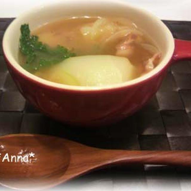 祝掲載★絶品★カブの簡単スープ ~栄養満点! by.Anna