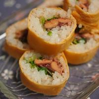 さんまの蒲焼ロール寿司