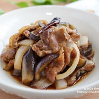 ご飯がとまらない♡【レシピ】豚と茄子のみりん炒め
