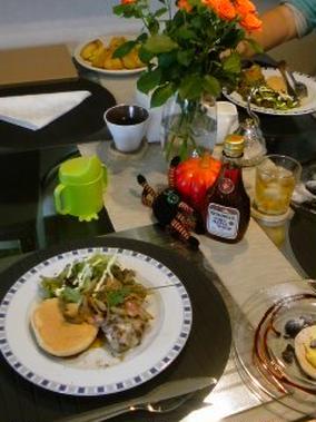 小さなお料理教室「Ie(イーエ)」・・・かぼちゃのスコーン。