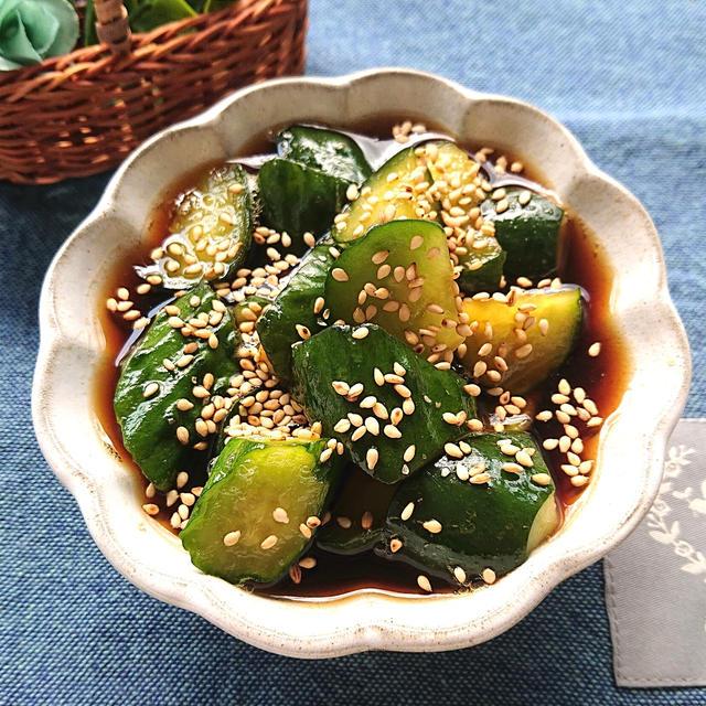 ポリポリ美味しいきゅうりの漬物