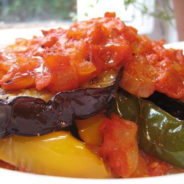 マジョリカ島の夏野菜オーブン焼き~Tumbet~