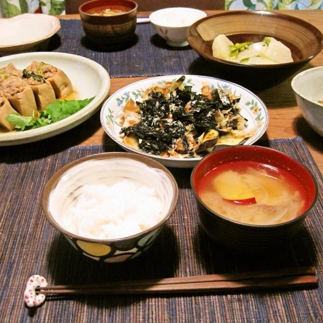 ゆりりさんの*いこみ高野豆腐