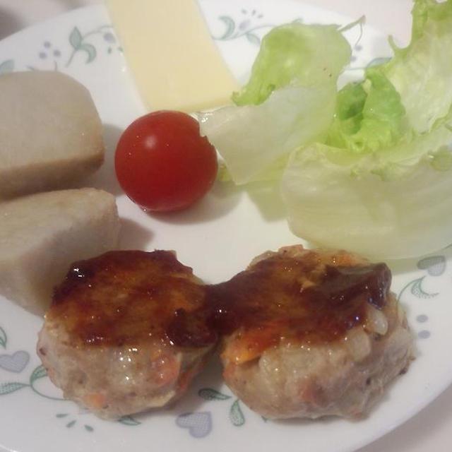 ひき肉で3食分 ミニハンバーグ