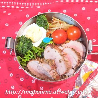 温泉地のお蕎麦屋さん@新潟 松之山温泉 ☆ お弁当は グリルdeポーク