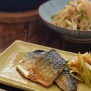 時短食材の魚で簡単晩ごはんの日。