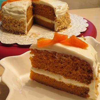 Carrot cake/ 本格ニンジンケーキ