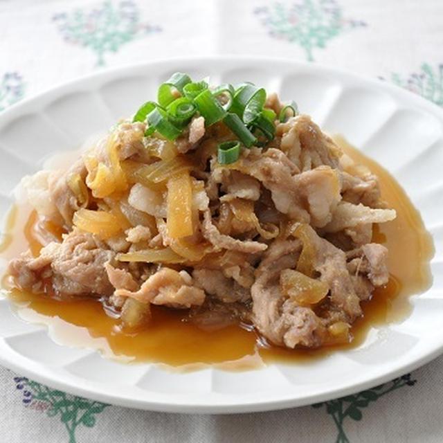 【ラクうまおかず】豚肉と玉ねぎで♪豚肉と玉ねぎの甘辛煮