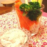 【レシピ♡】豆腐のバジルディップ♡ 『レシピブログモニターレシピ♪』