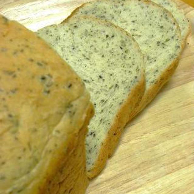 早焼き胡麻バジル食パン