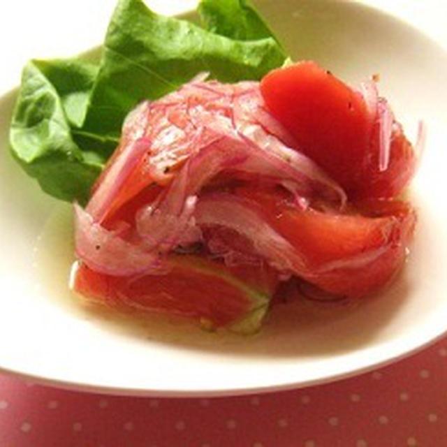 トマトのスイートマリネ
