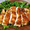 もはやスープ。肉汁溢れる白だし柚子胡椒のチーズチキン。(糖質5.1g) by ねこやましゅんさん