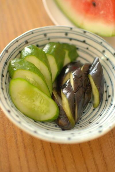 今年の糠漬け Japanese Pickled Vegetables in Rice Bran