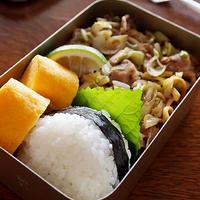 旨炒めペーストで葱と白菜の塩焼きちゃんぽん・・お弁当&私のランチ&日常♪