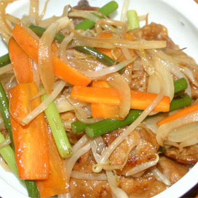 大豆ミート野菜炒め