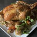 [レシピ]意外に簡単、クリスマスにぴったり!丸鶏で作るローストチキン