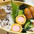 【お弁当】お弁当作り/ワンパン弁当/豚バラと胡瓜の旨塩炒め