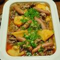 《糖質オフ:ひと鍋で煮るだけ簡単!ゴーヤとツナのポテサラ風》と昨日はお鍋