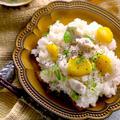 鶏と栗の炊き込みご飯