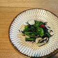 菜の花と百合根のぺペロンチーノ