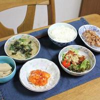 肉味噌春雨と高野豆腐とクイックパックでうちごはん(レシピ付)