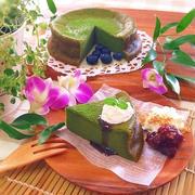 メレンゲ不要♡ノンオイル♡恋抹茶のお豆腐ガトーショコラ