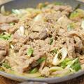 【レシピ】野菜たっぷり「豚こまプルコギ」炊き立てごはんの上にどうぞ。娘の弁当のオカズ兼務