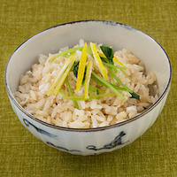 レシピ---炊飯器で簡単・美味しい鯛めし(切り身)/森圭介(森陶房)の茶碗