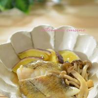 タラとキノコと薩摩芋のほっこり煮