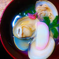 春の食卓 抹茶蕎麦 蛤の桜椀 オカ温泉焼肉  今日は、ぶひぺろちゃんの作り方も♪ by 青山 金魚さん
