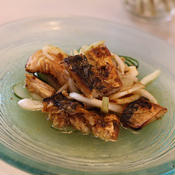 塩サバと野菜のガラムマサラ*マリネ
