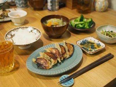 >焼き餃子ごはん by ねこさん