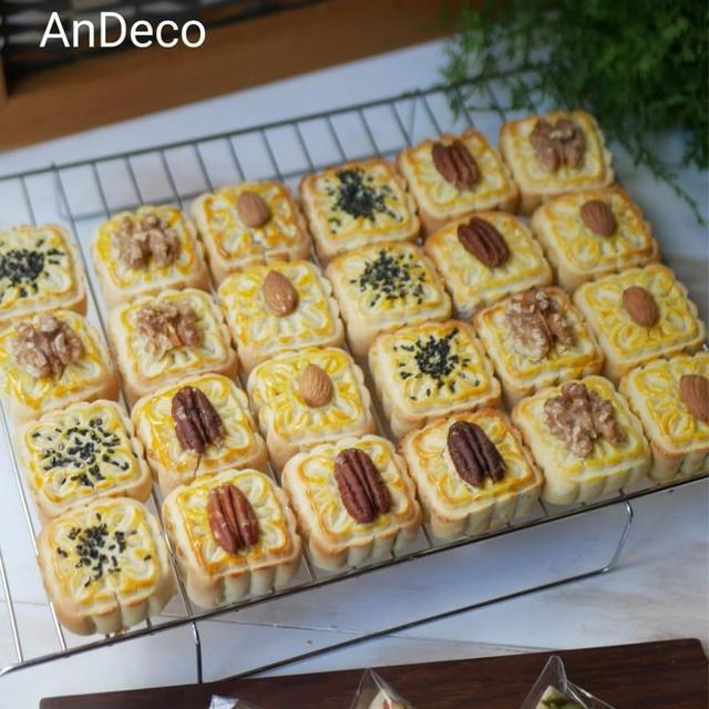 【受講】アンデコ認定講師レッスン★美味しい月餅