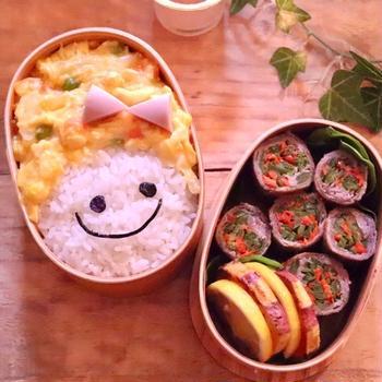 トロトロ卵の天津飯弁当
