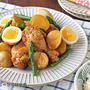 調理時間5分!炊飯器で鶏肉と新じゃがの甘辛煮