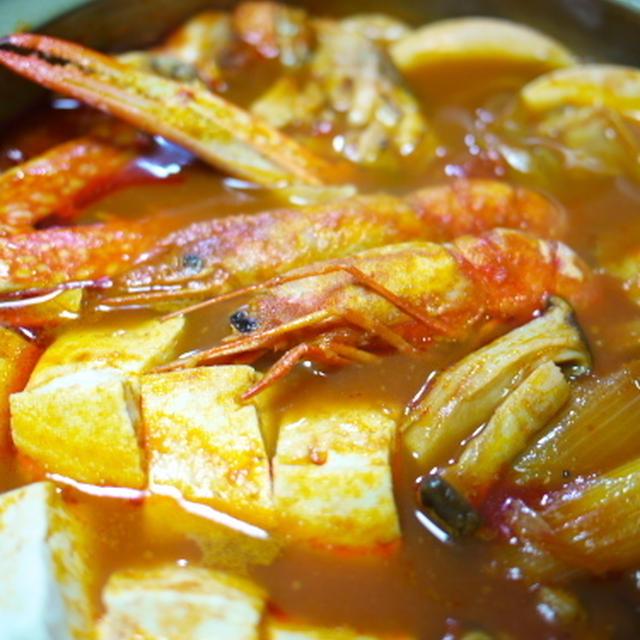 ブイヤベース風 海鮮トマト鍋