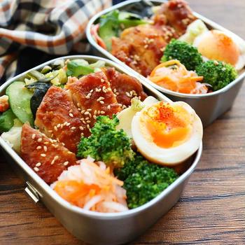 弁当にも晩ご飯にも!味噌焼きチキンのレシピどーぞ。