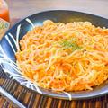 進化系白滝麺。芳醇ツナトマトの豆板醤ペスカトーレ風(糖質5.3g) by ねこやましゅんさん